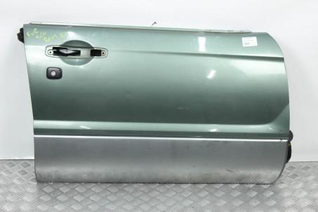Дверь передняя правая Subaru Forester (SG) 2002-2008 60009SA1219P (427) Под личинку серая черная