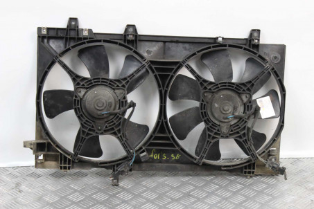 Диффузор с вентиляторами комплект в сборе Subaru Forester (SG) 2002-2008 45122SA000 (432)