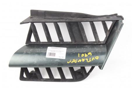 Решетка радиатора левая рест Mitsubishi Outlander (CU) 2003-2008 7450A269HA (1045)