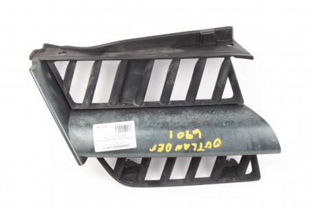 Решетка радиатора правая рест Mitsubishi Outlander (CU) 2003-2008 7450A270HA (1046)
