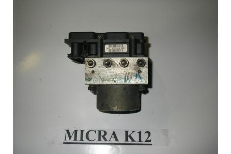 Блок ABS 1.2 Nissan Micra (K12) 2002-2011 47660 AX600 (1153) BOSCH