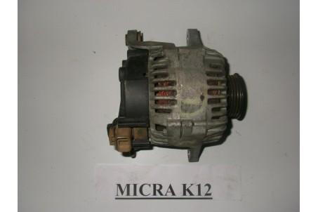 Генератор 1.2 (14V/80A) Nissan Micra (K12) 02-11 23100-AX600 (1160) VALEO/ 80A
