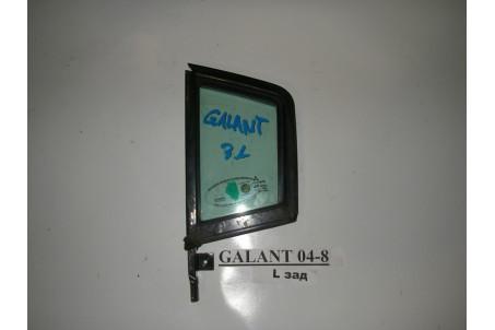 Стекло двери задней левой (форточка) заднее Mitsubishi Galant (DJ) 2003-2012 5740A051 (2594)