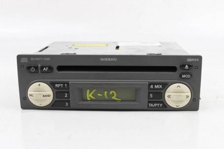 Магнитофон Nissan Micra (K12) 2002-2011 7642346318 (2621)