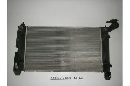 Радиатор основной 1.8 автомат Toyota Avensis T25 2003-2009  (2708)