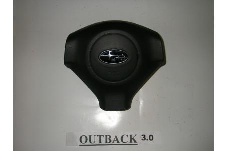 Подушка безопасности в руль 04.06-06.08 2 разъема Subaru Outback (BP) 2003-2009 98211AG080JC (2882)