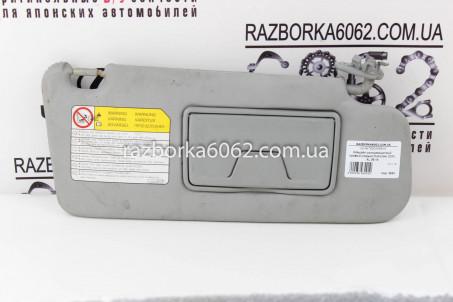 Козырёк солнцезащитный правый (серый) Mitsubishi Outlander (CW) XL 2006-2014 7620A068HA (3693)