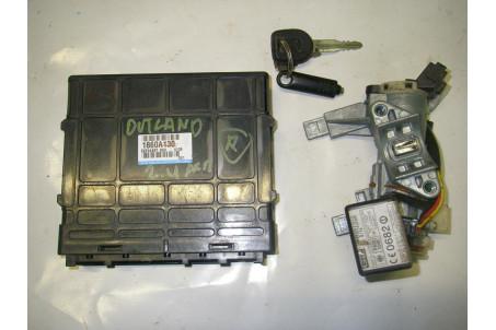 Блок управления двигателем комплект 2.4 АКПП Mitsubishi Outlander (CU) 2003-2008 1860A130 (14133)