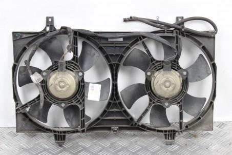 Диффузор с вентиляторами комплект 2.0 АКПП Nissan Primera (P12) 2002-2009 21481BN310 (42535)
